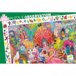 Puzzle d'observation Carnaval de rio 200 pièces Djeco