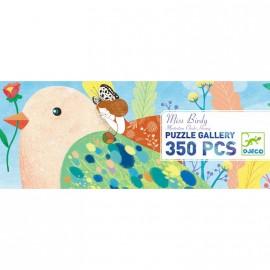 Puzzle gallery Miss Birdy 350 pièces Djeco