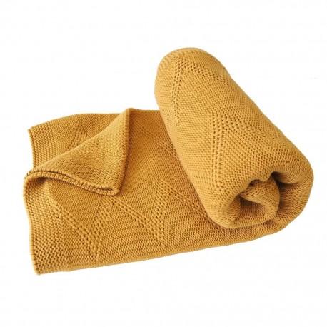 Couverture bébé coton bio Zigzag Kikadu