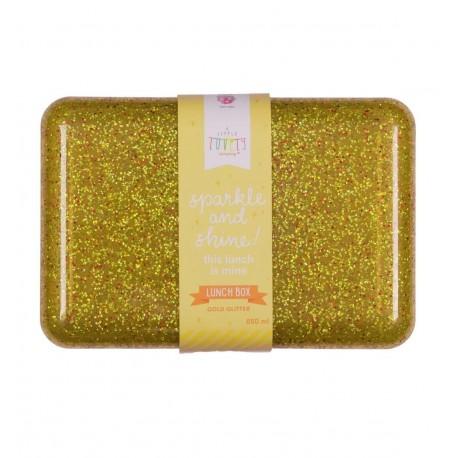 Lunch box Paillettes dorée A Little Lovely Company