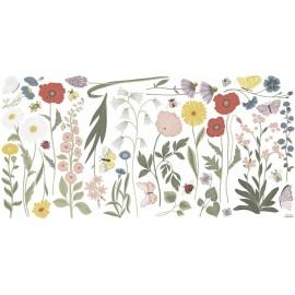 Sticker XL Fleurs et insectes Lilipinso
