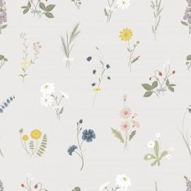 Papier peint Fleurs sauvages Lilipinso