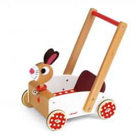 Chariot de marche Crazy rabbit Janod