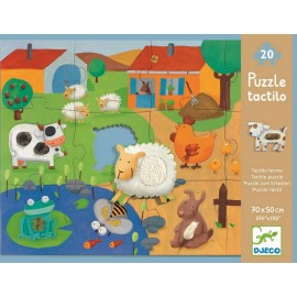 Puzzle géant Tactiloferme Djeco