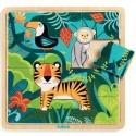 Puzzle Jungle Djeco (15 pièces)