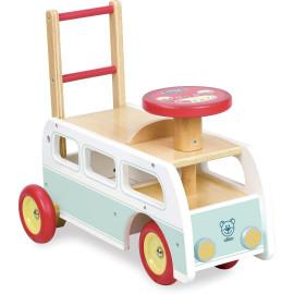 Chariot de marche porteur Combi Retro 2 en 1 Vilac