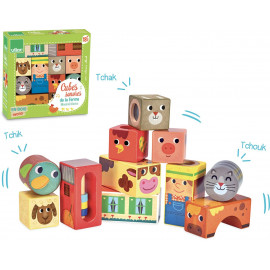 Cubes sonores de la ferme Vilac
