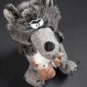 Peluche loup et agneau Beasts