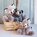 Panda roux Sweety Mousse Histoire d'Ours (25cm)
