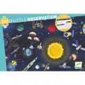 Puzzle observation L'espace + livret Djeco (200pcs)
