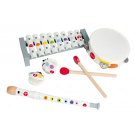 Set musical confetti 4 instruments Janod