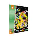 Kit Créatif Scratch Art Animaux Du Monde