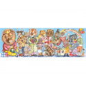 Puzzle gallery King's party Djeco (100 pièces)