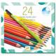 24 crayons aquarellables Djeco