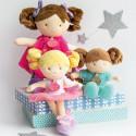 Poupée Demoiselle Pretty lollipop Doudou et Compagnie
