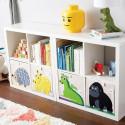 Cube de rangement jouets Hérisson 3 sprouts