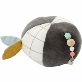 Balle d'activité coton bio Panda Kikadu