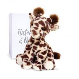Peluche Lisi Girafe naturelle Histoire d'Ours (30cm)