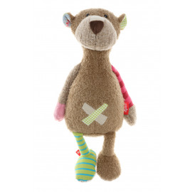 Peluche Ours Sweety Patchwork Sigikid (40 cm)