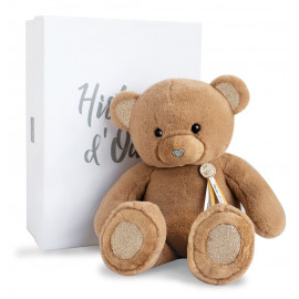 Ours Charms marron clair Histoire d'Ours (40cm)