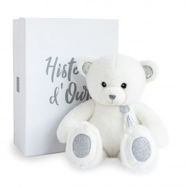 Ours Charms Blanc Histoire d'Ours (40cm)