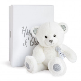 Ours Charms Blanc Histoire d'Ours (24cm)