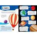 Coffret livre et puzzle Le système solaire Sassi