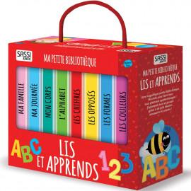 8 livres Lis et apprends Sassi
