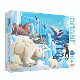 Puzzle La planète en danger Les glaces avec livret Sassi