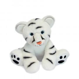 Peluche Bébé Tigre Blanc Histoire d'Ours (25cm)