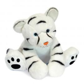 Peluche Bébé Tigre Blanc Histoire d'Ours (35cm)