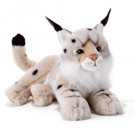 Peluche Lynx des neiges Vasaky Plush and Company (40cm)