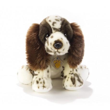 Peluche chien Springer anglais