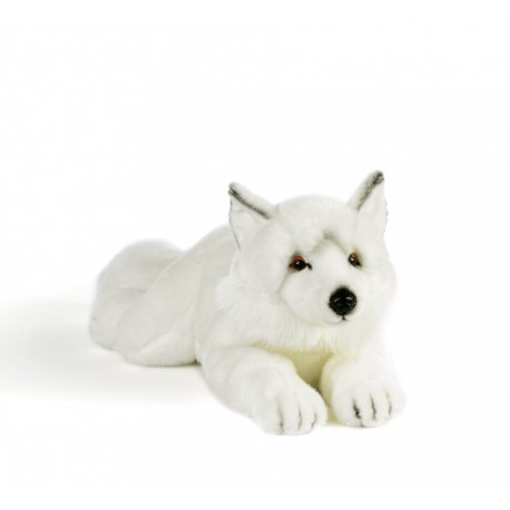 Peluche loup blanc Plush and Company