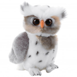 Peluche hibou blanc des neiges Plush and Compagny