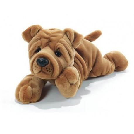 Peluche chien Sharpei Plush and Company