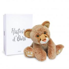 Peluche Bébé lion Histoire d'Ours (25cm)