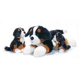 Peluche chiot Bouvier Bernois Plush and company