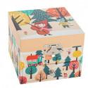 Boîte à musique Cube Petit Chaperon Rouge Trousselier