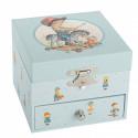 Boîte à musique cube Cheval à bascule Trousselier