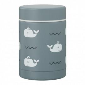 Boîte repas isotherme Baleine Fresk (300ml)