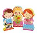 Puzzle Dolls en bois  Par Janod