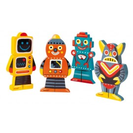 Funny Magnet Robots Janod