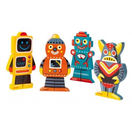 Funny Magnet Robots Janod