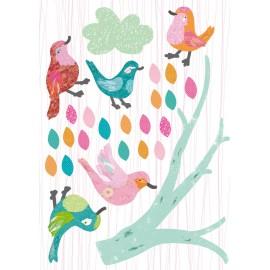 Stickers Les Oiseaux d'Abbie-Rose