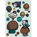 Sticker Piou- piou bleu