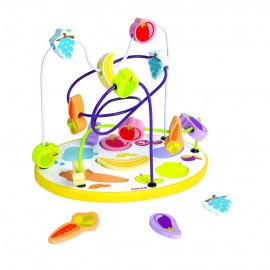 Looping puzzle fruits et légumes par Janod