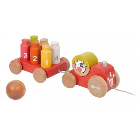 Le Tracteur Bowling des Zigolos par Janod