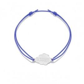 Bracelet d'Allaitement Reminder Bleu par Poup'ké