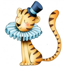 Sticker Circus2 - Petit tigre